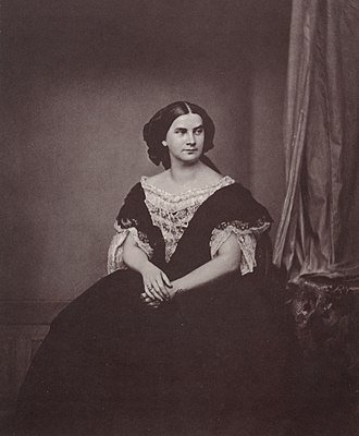 Marie of Prussia - Queen Marie in middle age, 1860s