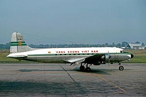 Air Vietnam - Douglas C-54D, in 1975