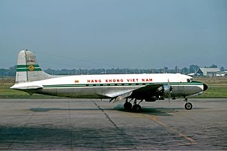 Air Vietnam - Douglas C-54D, in 1975