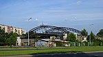 Hangar, former airport Rakowice-Czyzyny, Stella-Sawickiego street, Nowa Huta, Krakow, Poland.jpg