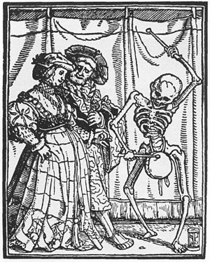 Naqareh - German woodcut in the early 1500s.
