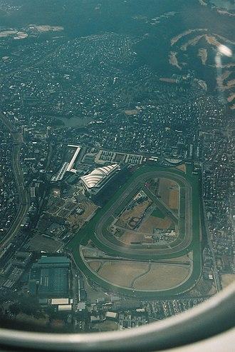 Hanshin Racecourse - Image: Hanshin Racecourse aerial 2007