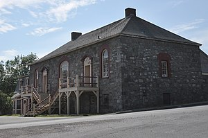 2016 Newfoundland and Labrador budget protests - The courthouse in Harbour Grace will be one of the casualties of public-sector cuts.