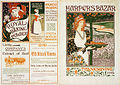 Harper's Bazaar Thanksgiving front and back covers, 1894.jpg