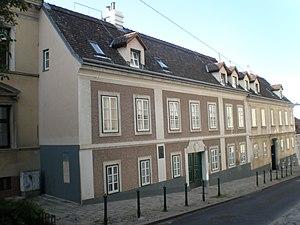 Johann Baptist Malfatti von Monteregio - Haus Malfatti, his residence in Vienna's Weinhaus neighborhood