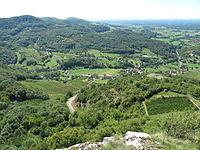 Hauteurs du Jura vues depuis Saint-Laurent-la-Roche.jpg
