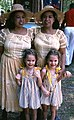 Haydee and Sahara Scull with Hannah and Megan Leatherbury - White Springs.jpg
