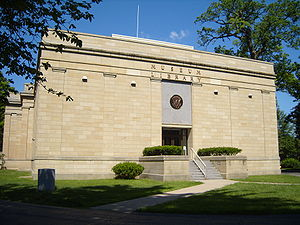 Rutherford B. Hayes Presidential Center - Image: Hayes Library