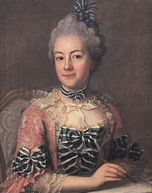 Hedvig Charlotta Nordenflycht - Hedvig Charlotta Nordenflycht painted by Ulrika Pasch
