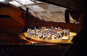 Heichal HaTarbut - The concert hall after renovation
