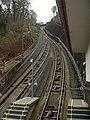 Heidelberg - Bergbahn in der Nähe Heidelberger Schloss.JPG