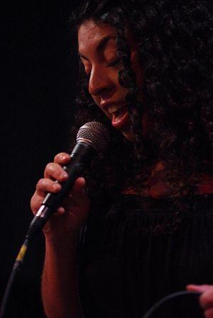 Jazz singer Heidi Vogel