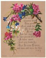 Helga von Cramm, chromolithograoh, No. 5. Alpenrose, Gentian, and St. John's Lily. With F.R.Havergal prayer.tiff