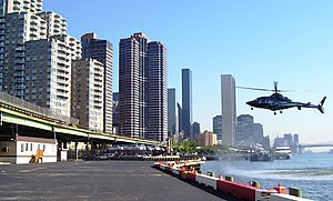 Helicopter landing E 34th St heliport NYC.jpg