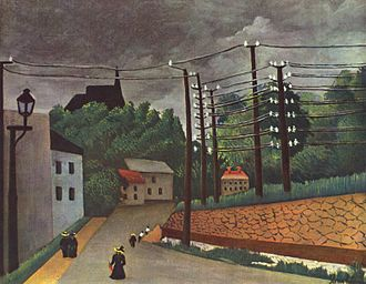 Malakoff - Malakoff in a painting by Henri Rousseau.