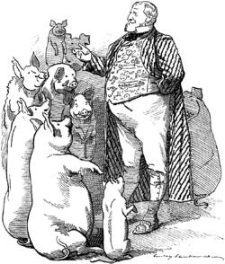 Henry Chaplin, 1st Viscount Chaplin - Punch cartoon - Project Gutenberg eText 14845.png