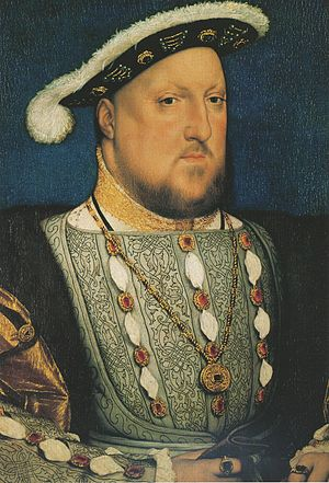 1536 in art - Image: Henry VIII of England, by Hans Holbein the Younger
