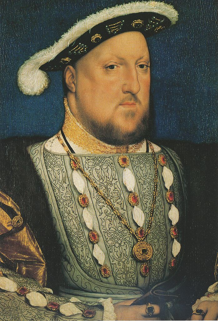File:Henry VIII of England, by Hans Holbein the Younger ...