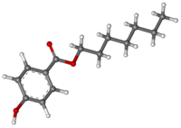Heptyl p-hydroxybenzoate ball-and-stick.png