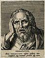 Heraclitus. Line engraving. Wellcome V0002701.jpg