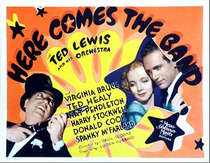 Here Comes the Band (film) - Lobby card