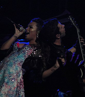 Here We Go Again (Demi Lovato album) - Lovato performing the title track during A Special Night with Demi Lovato
