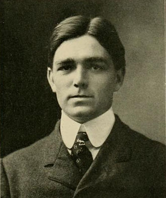 Herman Olcott - Olcott pictured in the 1903 Yackety Yack, North Carolina yearbook