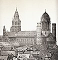 Hermann Emden - Mainzer Dom von Südosten vor1858 (ZBm262).jpg
