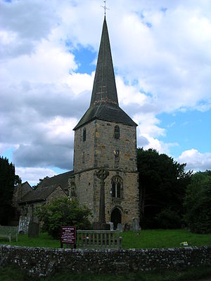 Hever, Kent - Image: Hever Church
