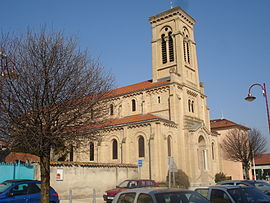 The church of Heyrieux