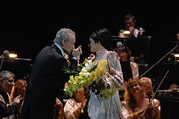 Hiba Al Kawas and Jose Carreras.JPG