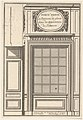 Hidden Door covered with a Mirror in the Trianon Palace,plate V from the Series 'Portes a Placard et Lambris', published as part of 'L'Architecture à la Mode' MET DP834187.jpg