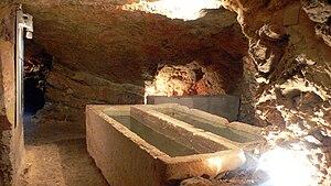 Necropolis of Puig des Molins - Hypogeum in the phoenician necropolis of Puig des Molins in Ibiza (Spain).