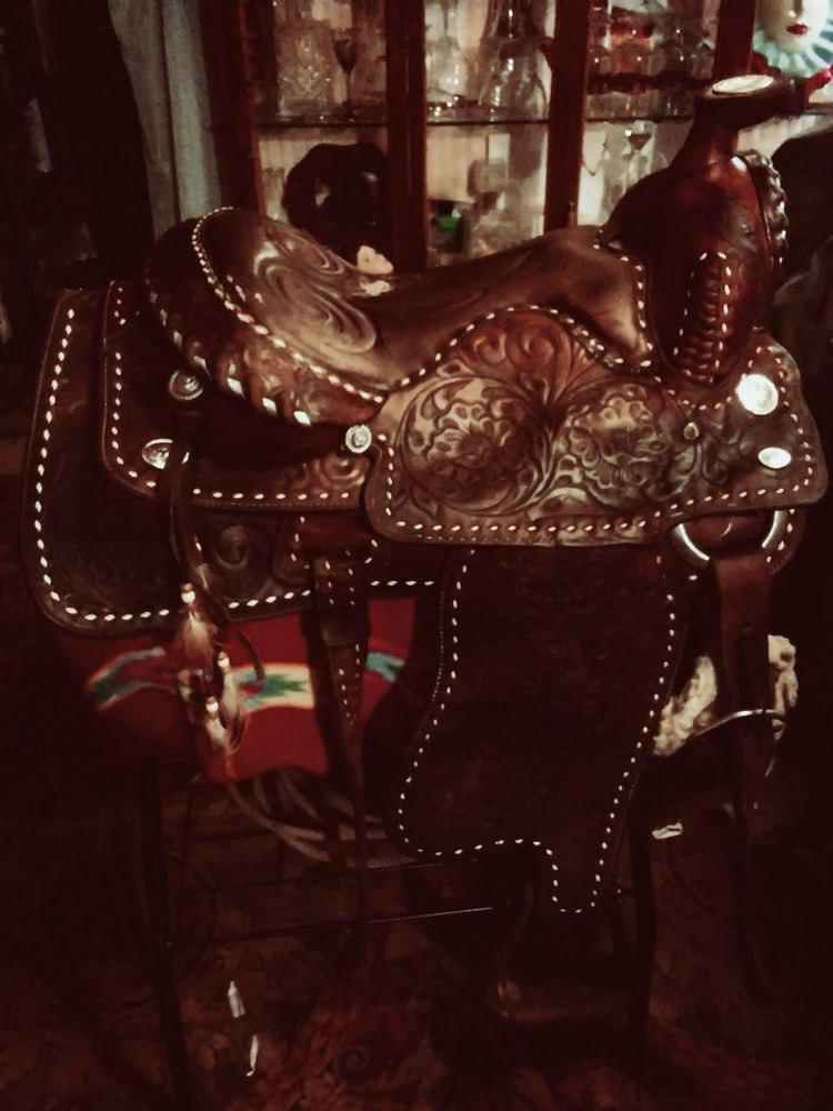 Hispanic Charro Saddle