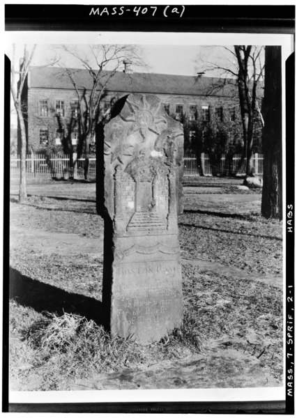 File:Historic American Buildings Survey Arthur C. Haskell, Photographer Oct. 1, 1937 (a) EXT.- FRONT - Boston Road (Milestone), Springfield, Hampden County, MA HABS MASS,7-SPRIF,2-1.tif