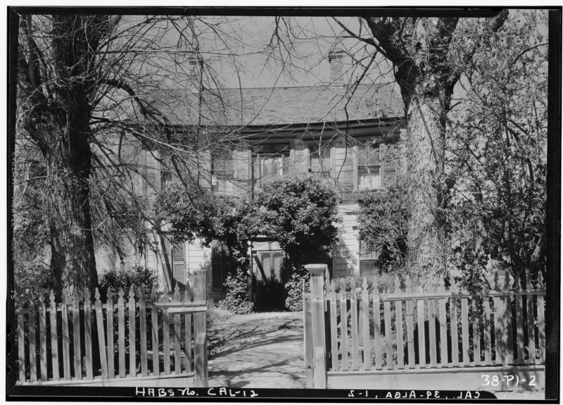 File:Historic American Buildings Survey Roger Sturtevant, Photographer Jan. 17, 1934 FRONT ELEVATION - Farmhouse, Alba, San Joaquin County, CA HABS CAL,39-ALBA,1-2.tif