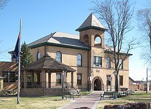Historic Navajo County Courthouse and Museum in Holbrook