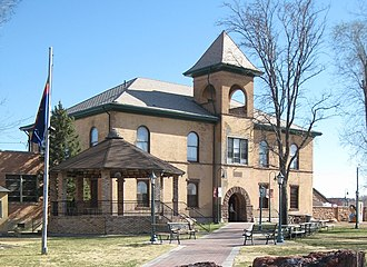 Navajo County, Arizona - Image: Historic Navajo County Courthouse and Museum cropped