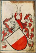 Hohenberg coat of arms Scheibler.jpg
