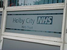 holby city hospital building