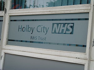 Holby City - The hospital set, at BBC Elstree Centre in Borehamwood.