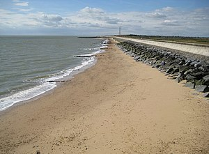 Holland-on-Sea - Image: Holland on Sea, Beach at Sandy Point geograph.org.uk 1470929