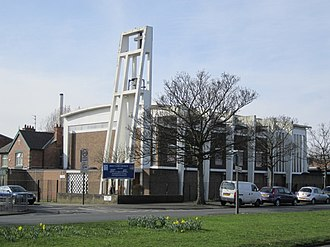 Fazakerley - Image: Holy Name Church, Fazakerley
