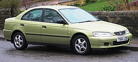 Honda Accord 1850cc registered June 1999.jpg