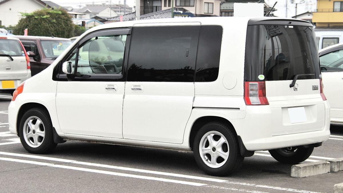 ファイル:Honda Mobilio 2001 Rear.JPG - Wikipedia