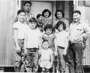 Mike Honda - Young Mike Honda (bottom middle) with his family