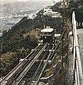 Hong Kong Peak Tram railcar c1956.jpg