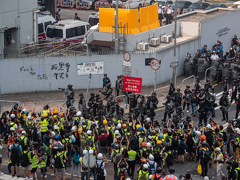 Hong Kong protests - Kwong Tong March 20190824 - P1066371.jpg