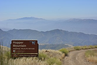 Hopper Mountain National Wildlife Refuge - Image: Hopper Mountain NWR sign