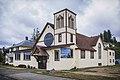 Hoquiam, WA — First Baptist Church of Hoquiam (July 2016).jpg
